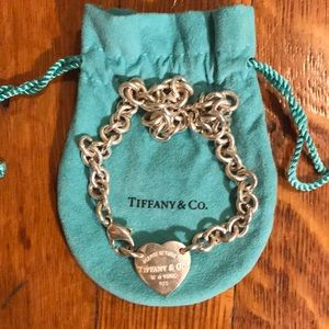 Return to Tiffany heart tag choker